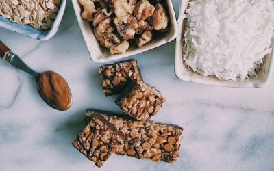 Healthy, No-Bake Granola Bars