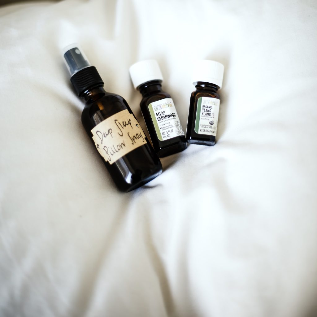 diy pillow spray